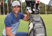 """Adrián Otaegui: """"Siempre he querido ser uno de los mejores golfistas del mundo y voy a por ello"""""""