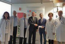 La Fundación Sergio García entrega 123.116,39€ del Andalucía Masters al Hospital Universitario La Paz