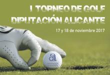 El I Trofeo de Golf Diputación de Alicante, todo un éxito antes de que comience la competición
