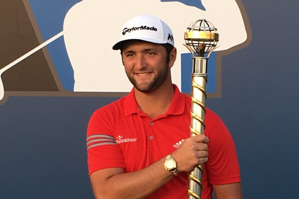 Jon Rahm, DP World Tour Championship, Jumeirah,