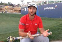 Rahm, feliz tras su victoria en el DP: 'Es muy bonito, pero hay que seguir trabajando' (DECLARACIONES)
