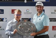 Jon Rahm es nombrado novato del año en el Tour Europeo. Es el 5º español en conseguir tal galardón