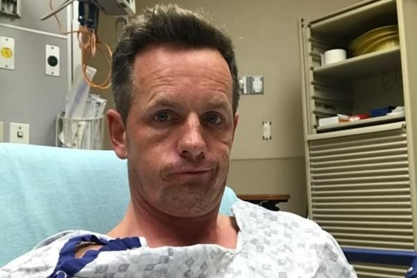 Luke Donald fue trasladado al hospital con fuertes dolores en el pecho. Todo quedó en un susto