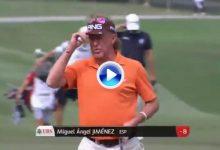 53 años, 63 golpes. Jiménez suma otro Top 10 en Hong Kong gracias a golpazos como este (VÍDEO)