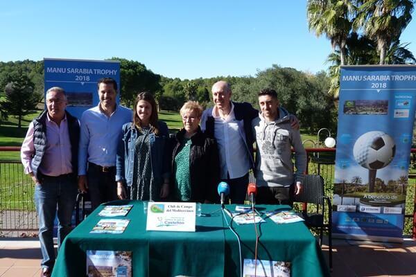 De izquierda a derecha: Salvador Gallardo, Víctor García, Mar García, Consuelo Fernández, Manu Sarabia y Pablo Hernández