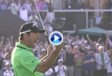 Quirós consiguió en 2011 uno de los mejores finales de la historia del DP World Tour dubaití (VÍDEO)