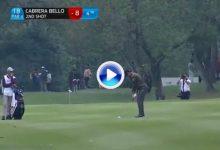 Este golpazo del canario Rafa Cabrera-Bello en el 18 del Hong Kong Open podría valer un título (VÍDEO)