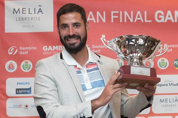 Santi Tarrío, campeón en Zaudín