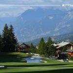 18 Golf en las montañas de Suiza