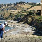 20 Bunker natural en el Rocco Forte Open en Sicilia