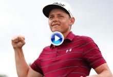 Con este Chip & Putt, Smith lograba su primera victoria en el Tour y un cheque de 200.000€ (VÍDEO)