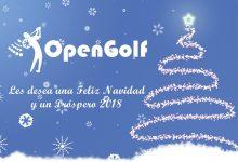 ¡FELIZ AÑO NUEVO! El equipo de OpenGolf les desea unas felices fiestas en esta época tan esperada