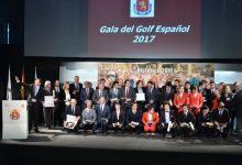 El golf español se viste de gala para homenajear a los mejores de un 2017 inolvidable