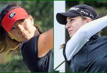 Luna Sobrón, a 18 hoyos de lograr la tarjeta LPGA. Harang Lee pasa el corte pero precisará un vueltón