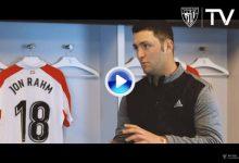 Jon Rahm: «Para mí, como para muchos, el Athletic es una religión. Es casi un estilo de vida» (VÍDEO)