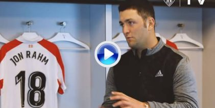 """Jon Rahm: """"Para mí, como para muchos, el Athletic es una religión. Es casi un estilo de vida"""" (VÍDEO)"""