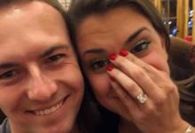 ¿Se casa? Una foto en las redes aviva el rumor de que Spieth le ha pedido matrimonio a su novia