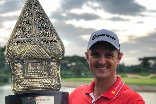 Justin Rose gana el Indonesian Masters. Foto @JustinRose99
