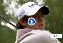 Vea la evolución del swing, y la fisonomía, de Rory desde 2007 hasta nuestros días en solo 30″ (VÍDEO)