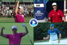 Sergio (2), Jon y Rafa, meten 4 golpes entre los 10 mejores del año en el PGA Tour ¡histórico! (VÍDEO)