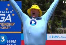 El japonés Hideto Tanihara encabeza los 5 mejores Hoyos en Uno del año en el European Tour (VÍDEO)
