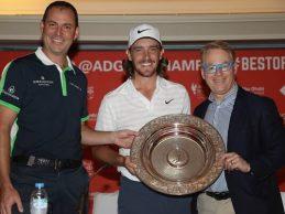 Fleetwood, Premio Seve Ballesteros. Ganó en Abu Dhabi y Francia y fue nº 1 uno en la Carrera a Dubái