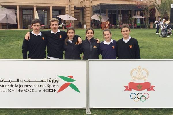 España se lleva de forma brillante la I Edición del Internac. de Marruecos por Equipos Sub 18 Mixto