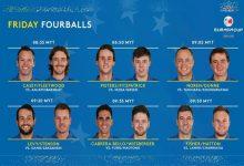 Nicholas Fung y Li Haotong, pareja rival de Cabr.-Bello y Wiesberger en los Fourball de la Eurasia Cup