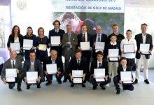 Más de una treintena de campeones reciben el reconocimiento de la Federación de Golf de Madrid