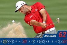 Rahm destroza La Quinta CC con un impresionante -10 y es líder en solitario del CareerBuilder