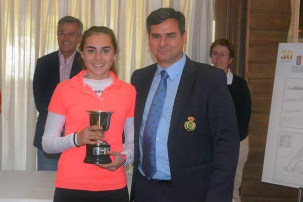 La catalana Laura Pasalodos gana la Copa de Andalucía en Atalaya Golf en un vibrante final