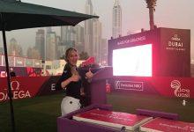 Nueva polémica con Paige Spiranac en el centro del huracán. La Kournikova del Golf, «Starter» en Dubai