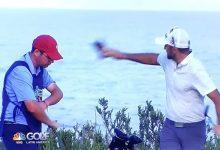 Un golfista del Web.com pierde el control y agrede a su caddie, más tarde le despidió (Incluye VÍDEO)