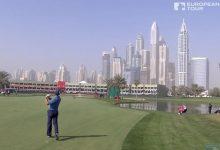VÍDEO: De esta forma jugó la primera ronda en Dubai Sergio García. 67 golpes que nos hacen soñar