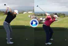 Vea, compare y disfrute. El swing a cámara lenta de Rahm, 3º del mundo, frente al de Spieth, 2º (VÍDEO)