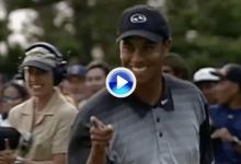 Tiger maravilló al mundo en el Tournament of Champions del 2000 con este gran final (VÍDEO)