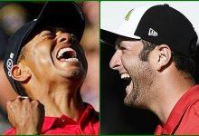 Rahm por un lado y Woods por otro. El PGA Tour no cree conveniente poner juntos al Tigre y al León