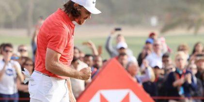 Fleetwood defiende el título en el Abu Dhabi HSBC con un domingo sensacional. Campillo, T14