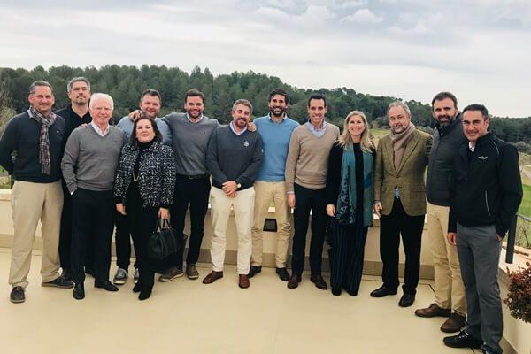 La AECG se presenta en Islas Baleares de la mano de la Asociación de Campos de Golf de Mallorca