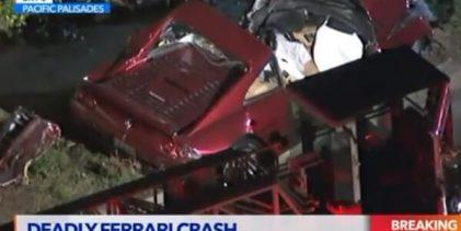 Así fue el espeluznante accidente de Bill Haas. Una persona murió y otra resultó herida (VÍDEO)
