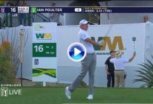 Poulter pegó un socket en el peor sitio posible. El inglés fue abucheado en el Coliseo del Golf (VÍDEO)