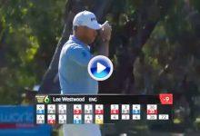 ¡Vaya forma de coger el liderato! Westwood manda en Australia con eagles marca de la casa (VÍDEO)