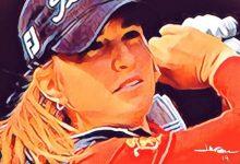 Luna Sobrón brilla en el Women's Australian Open de la LPGA donde es tercera (Incluye VÍDEO)