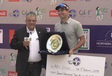 Noel Grau vuelve a ganar en el Mediterranean Tour. El alicantino conquista el Allegria Classic en Egipto