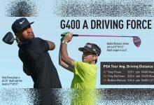 La familia G400 de PING pega más y mejor. Finau y Mullinax, líderes del PGA en distancia con el driver