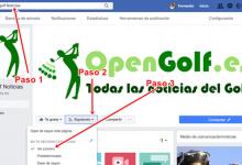 Cómo seguir viendo las noticias de OpenGolf en Facebook tras el cambio producido en la Red Social