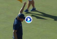 Phil Mickelson puso a los 22.000 espectadores del Coliseo del Golf en pie con este gran birdie (VÍDEO)