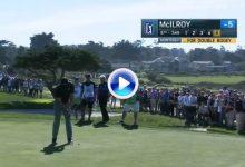 El Golf es duro… Rory McIlroy necesitó de ¡5 putts! después de cazar el green (par 4) de uno (VÍDEO)