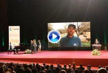 Sergio García, premiado en la Gala Nacional del Deporte. Recogió el galardón su madre (VÍDEO)