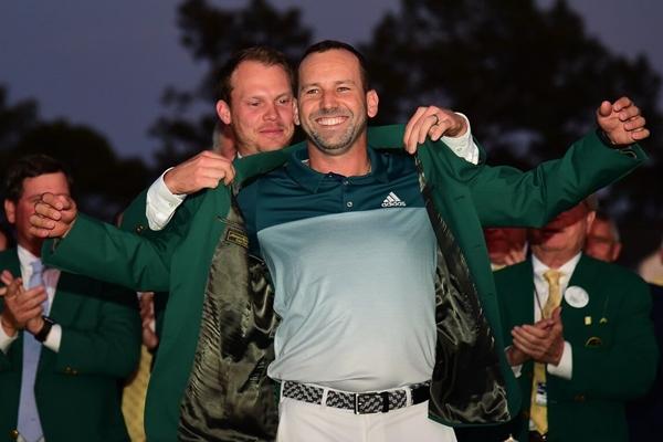 Sergio García Campeón del Masters 04. Foto @PGATOUR 600